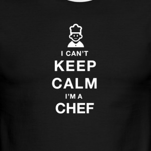 I CAN T KEEP CALM chef - Men's Ringer T-Shirt