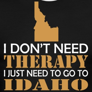I Dont Need Therapy I Just Want To Go Idaho - Men's Ringer T-Shirt
