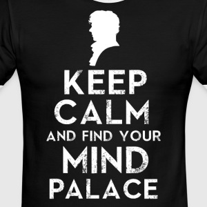 Keep Calm And Find Your Mind Palace - Men's Ringer T-Shirt