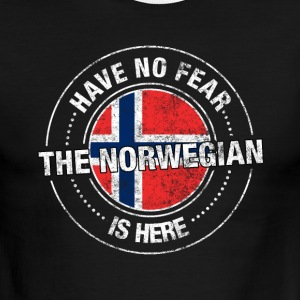 Have No Fear The Norwegian Is Here Shirt - Men's Ringer T-Shirt