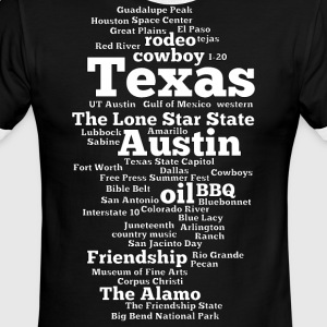 Texas (US state, The Lone Star State) - Men's Ringer T-Shirt