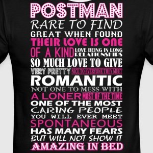 Postman Rare To Find Romantic Amazing To Bed - Men's Ringer T-Shirt