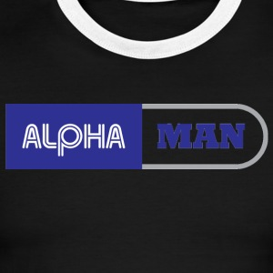 ALPHA MEN - Men's Ringer T-Shirt