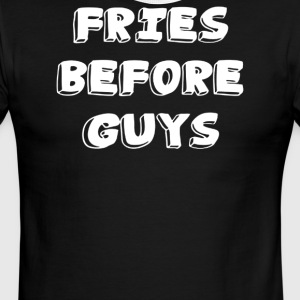 FRIES before GUYS - Men's Ringer T-Shirt