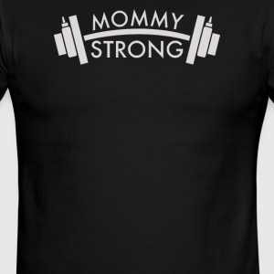 Mommy Strong - Men's Ringer T-Shirt