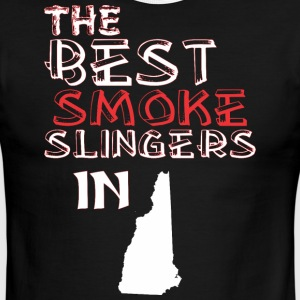 The Best Smoke Slingers In New Hampshire Barbecue - Men's Ringer T-Shirt