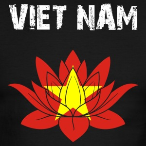Nation-Design Viet Nam Lotus - Men's Ringer T-Shirt