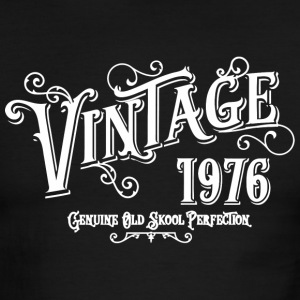 1976 - 1976 Vintage Age Birth Year Print Graphic - Men's Ringer T-Shirt