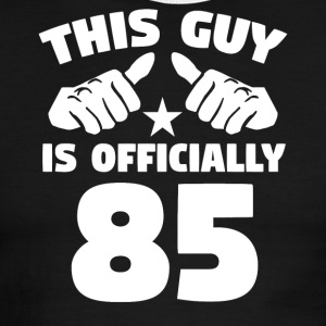 This Guy Is Officially 85 Years Old 85th Birthday - Men's Ringer T-Shirt