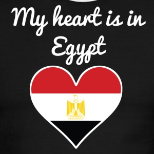 My Heart Is In Egypt - Men's Ringer T-Shirt