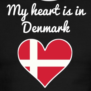 My Heart Is In Denmark - Men's Ringer T-Shirt