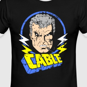 Cable • X-Men Cartoon - Men's Ringer T-Shirt