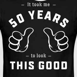 Funny 50th Birthday Gift: It took me 50 years - Men's Ringer T-Shirt
