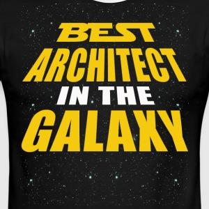 Best Architect In The Galaxy - Men's Ringer T-Shirt
