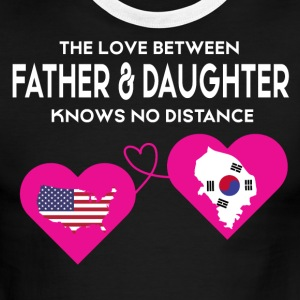 The Love Between Father And Daughter T Shirt - Men's Ringer T-Shirt