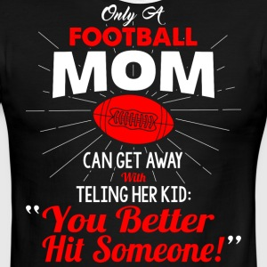 Football Mom T Shirt - Men's Ringer T-Shirt