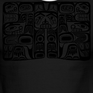 Haida Block Print - Men's Ringer T-Shirt