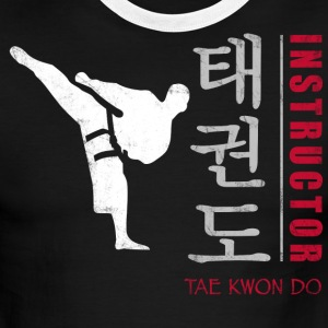 Taekwondo Instructor - Men's Ringer T-Shirt