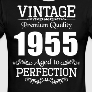 Vintage Premium Quality 1955 Aged To Perfection - Men's Ringer T-Shirt