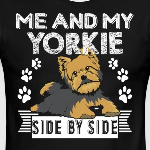 ME AND MY YORKIE SIDE BY SIDE SHIRT - Men's Ringer T-Shirt
