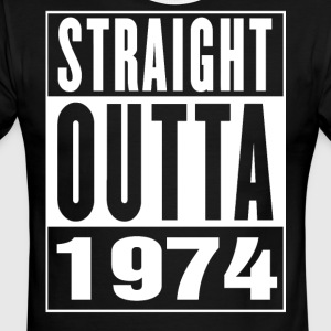 Straight Outa 1974 - Men's Ringer T-Shirt