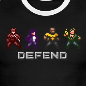 Defenders Arcade Tee - Men's Ringer T-Shirt