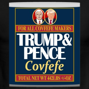 Trump's Covfefe In A Can - Men's Ringer T-Shirt