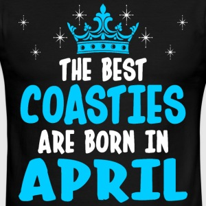 The Best Coasties Are Born In April - Men's Ringer T-Shirt
