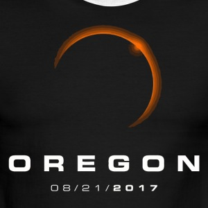 Oregon Eclipse - Men's Ringer T-Shirt