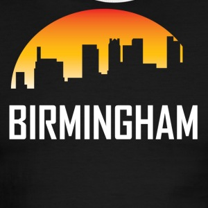 Birmingham Alabama Sunset Skyline - Men's Ringer T-Shirt