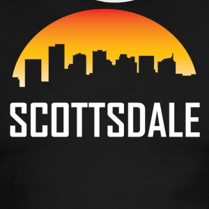 Scottsdale Arizona Sunset Skyline - Men's Ringer T-Shirt