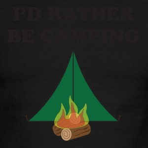 Rather Be Camping - Men's Ringer T-Shirt