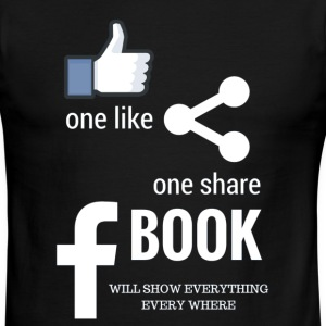 Fb social media - Men's Ringer T-Shirt
