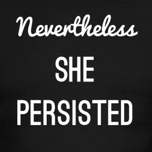 She Persisted - Men's Ringer T-Shirt