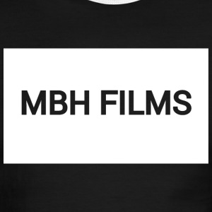 MBH Films - Basic Logo - Men's Ringer T-Shirt