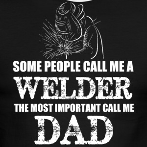 WELDER DAD T Shirt - Men's Ringer T-Shirt