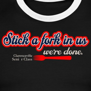 Clarenceville Senior Class - Men's Ringer T-Shirt