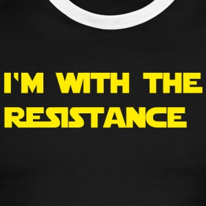 I'm with the resistance resistance - Men's Ringer T-Shirt