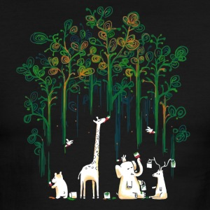 Meanwhile In The Woods - Men's Ringer T-Shirt