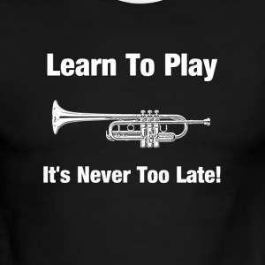 Learn to play trumpet - Men's Ringer T-Shirt