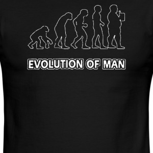 Evolution Of Man - Men's Ringer T-Shirt