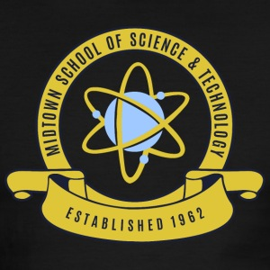 Midtown School of Science & Tachnology - Men's Ringer T-Shirt