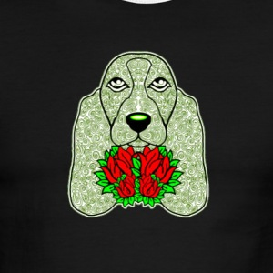 Dog s Head 3 - Men's Ringer T-Shirt