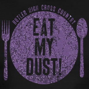 Butler High Cross Country Eat My Dust - Men's Ringer T-Shirt