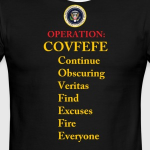 operation covfefe - Men's Ringer T-Shirt