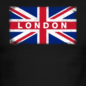 London Shirt Vintage United Kingdom Flag T-Shirt - Men's Ringer T-Shirt