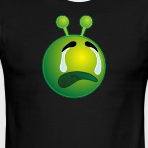 Bestseller Crying Sad Alien with Tears - Men's Ringer T-Shirt