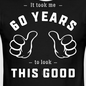 Funny 60th Birthday Gift for Men and Women - Men's Ringer T-Shirt
