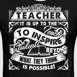 TEACHERS INSPIRE - Men's Ringer T-Shirt