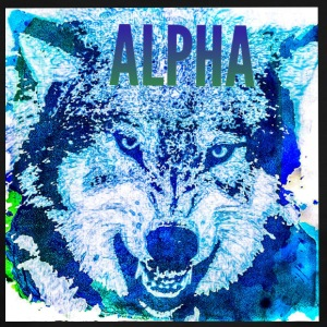 Alpha Wolf - Men's Ringer T-Shirt